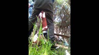 cruising…cum in woods by stranger
